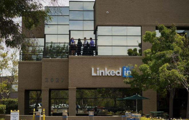 Sede de LinkedIn en Mountain View, Californioa (EEUU).