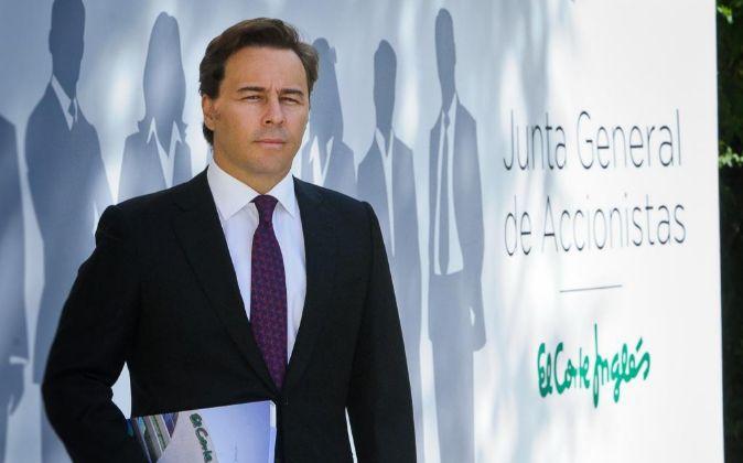 Dimas Gimeno, presidente de El Corte Inglés.