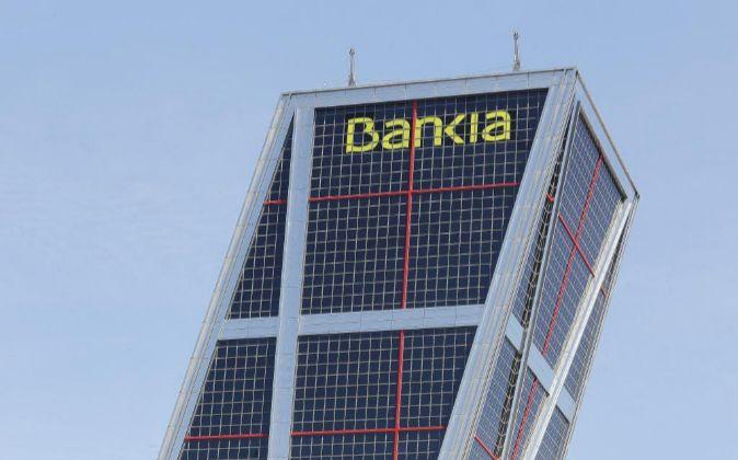 Sede de Bankia en Plaza Castilla, Madrid.