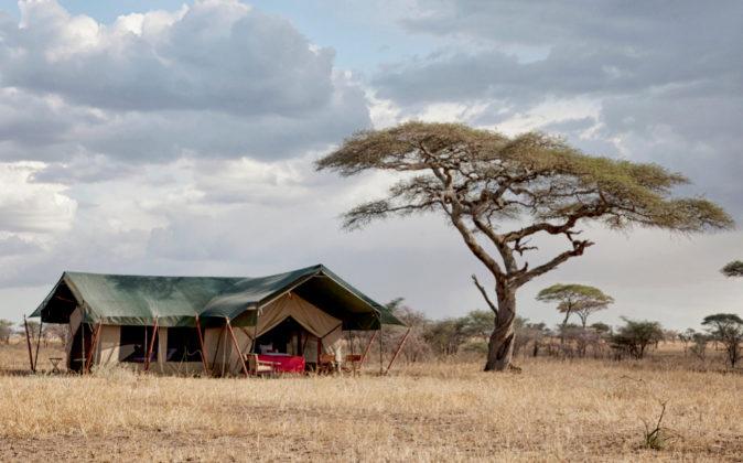 Uno de los campamentos móviles de Ratpanat en África.