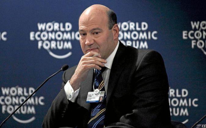 El presidente de Goldman Sachs, Gary Cohn.