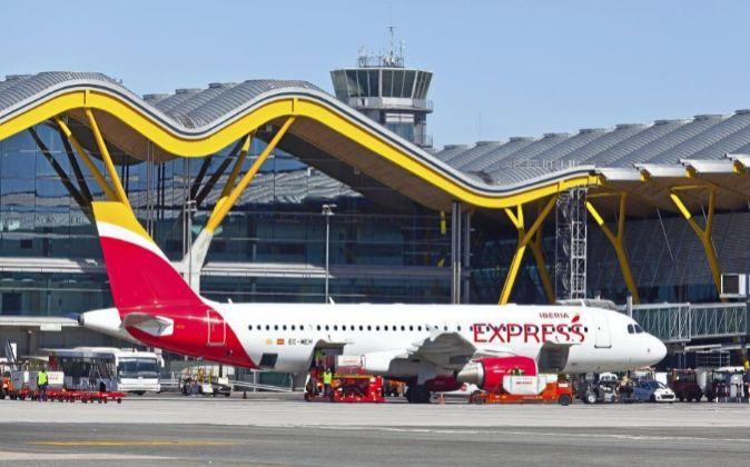 Aeropuerto de Barajas-Adolfo Suárez.