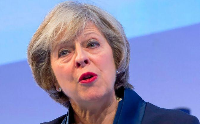 Orígenes. Theresa May, nacida en 1956, es hija de un vicario y se...