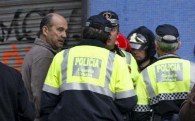 Miembros de la Policía Local de Barcelona.
