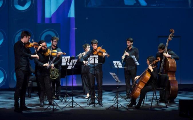 Grupo de cámara de la Escuela de Música del Reina Sofía,...