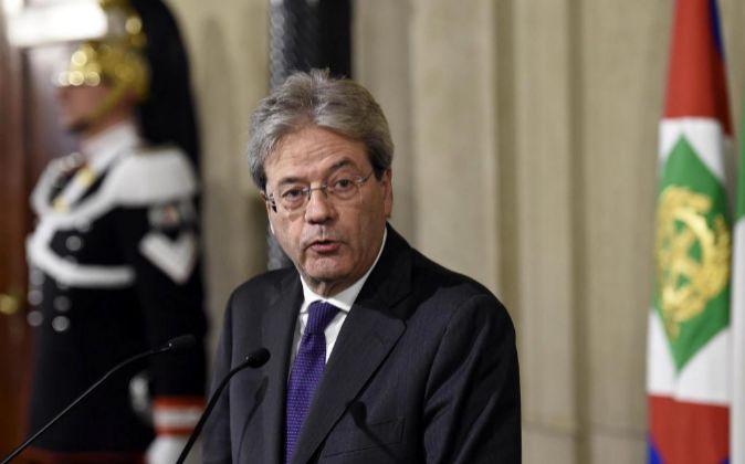 El nuevo primer ministro de Italia, Paolo Gentiloni.