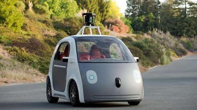 Coche autónomo de Google.