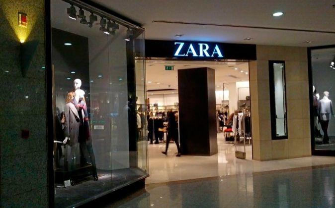 Tienda Zara en Ankara (Turquía).