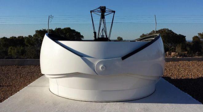 El observatorio DeSS vigila asteroides y basura espacial desde la...