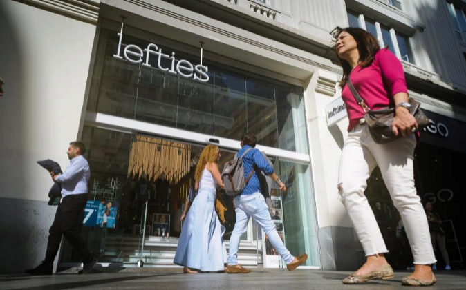 Tienda Lefties de Gran Via.