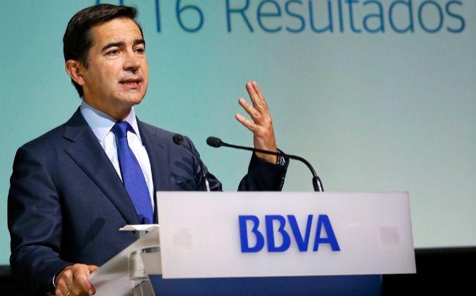El consejero delegado de BBVA, Carlos Torres