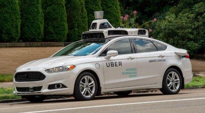 El coche autónomo de Uber que circula por las calles de San Francisco