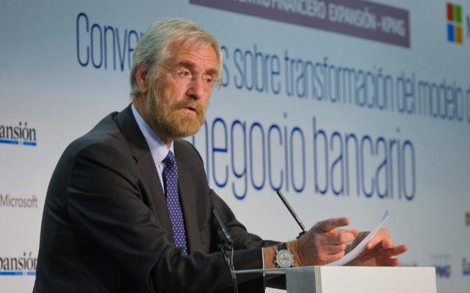 Peter Praet, economista jefe del BCE.