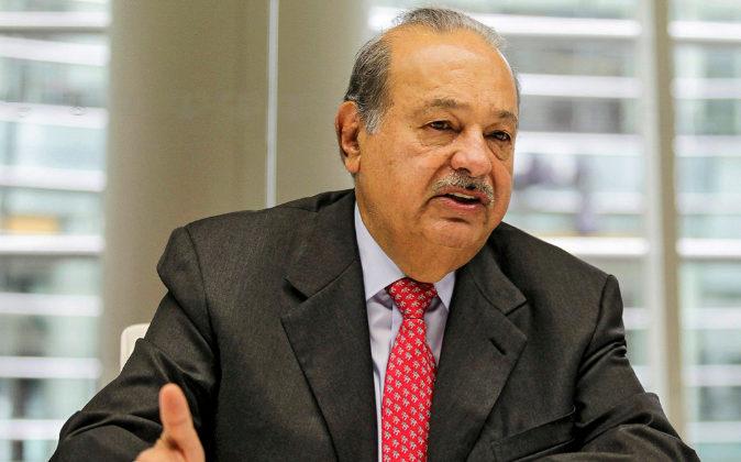 El magnate mexicano Carlos Slim, principal accionista de FCC.