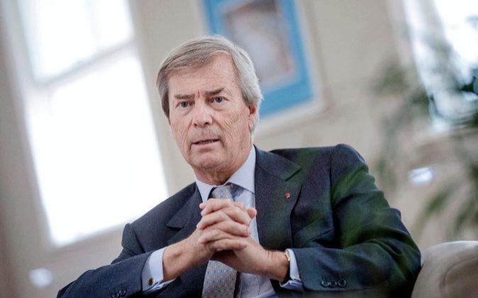 Vincent Bolloré controla el grupo Vivendi.