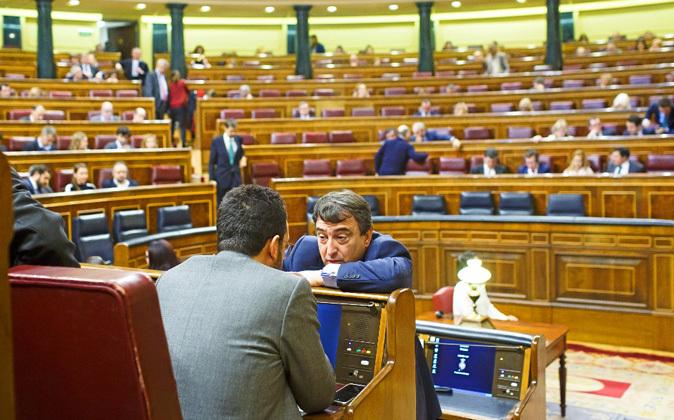 Sesión del Pleno del Congreso de los Diputados.