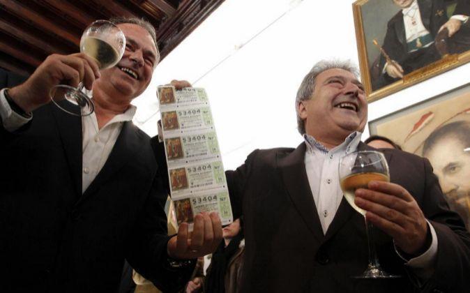 El ex presidente de la Diputación de Valencia, Alfonso Rus (d),...