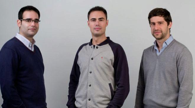 Félix Velasco, Javier Ovejero y Manuel Portillo, cofundadores de...