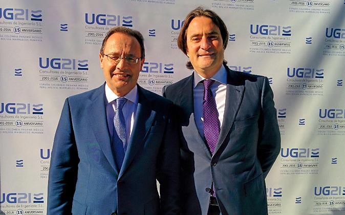 Ozgur Unay (izquierda) y Manuel González Moles, cofundadores y socios...
