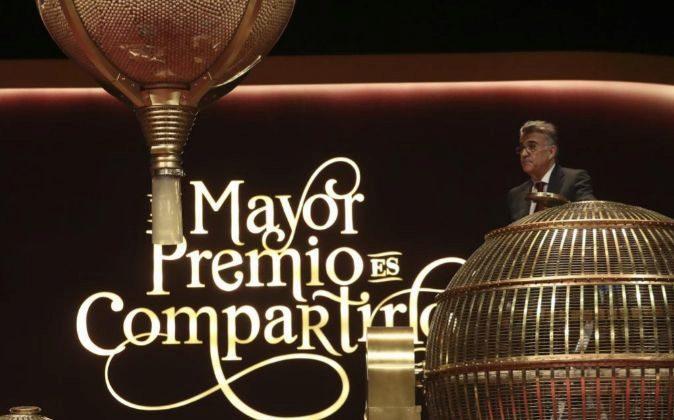 El Teatro Real acoge El Sorteo Extraordinario de Navidad.