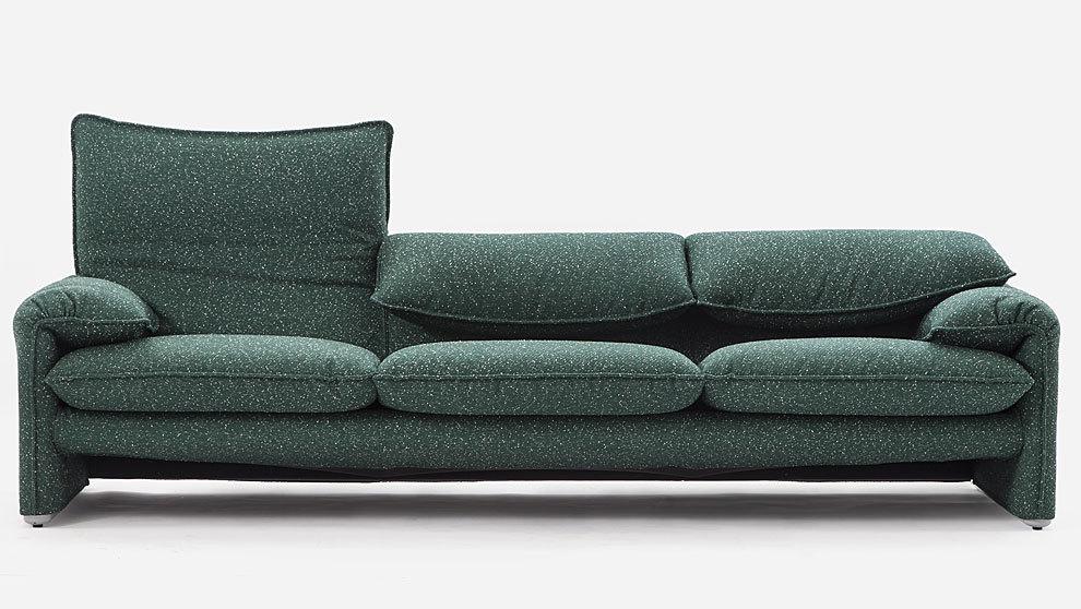 Sofá Maralunga, diseño de Vico Magistretti de 1973. Precio: desde...