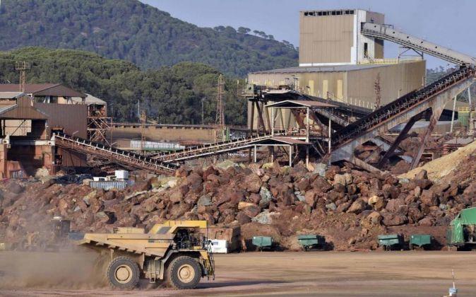 Trabajos mineros dirigidos por la ingeniería andaluza Ditecsa.