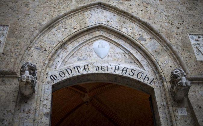 Sede de la Banca Monte Paschi di Siena.