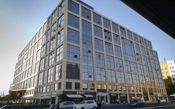 Edificio de viviendas en Plaza Castilla, propiedad de Testa Foto:...