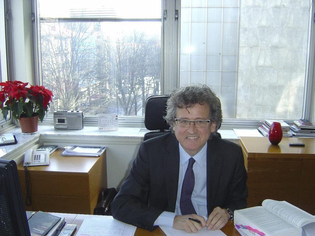 Tomás Arrieta, presidente del CRL vasco
