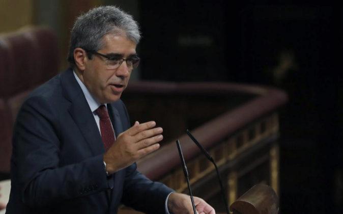 El portavoz del Partit Demòcrata Europeu Català (PDECat), Francesc...