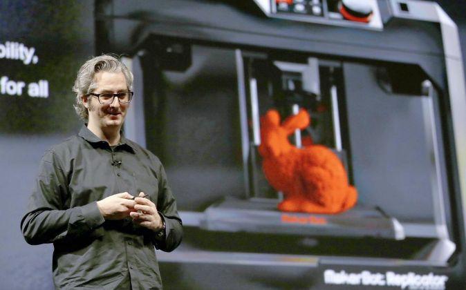 Bre Pettis, fundador de MakerBot y emprendedor pionero en impresión...