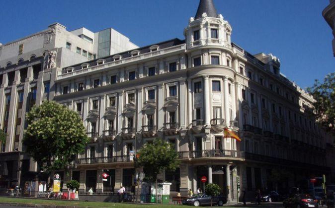Sede de la CNMC en la Calle Alcalá (Madrid).