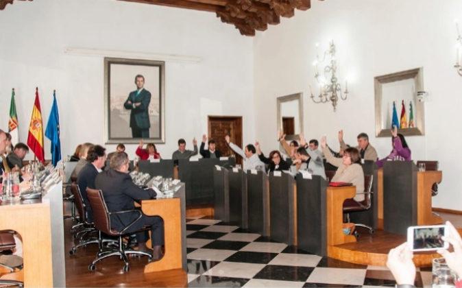 El último Pleno Ordinario del año de la Diputación de Cáceres...