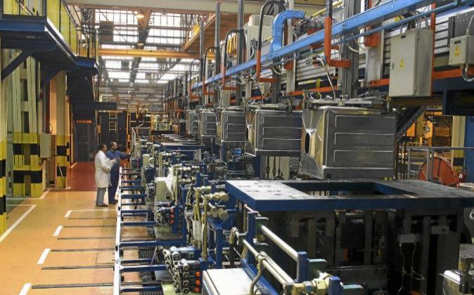 Fábrica de electrodomésticos Fagor en Mondragón, en una imagen de...