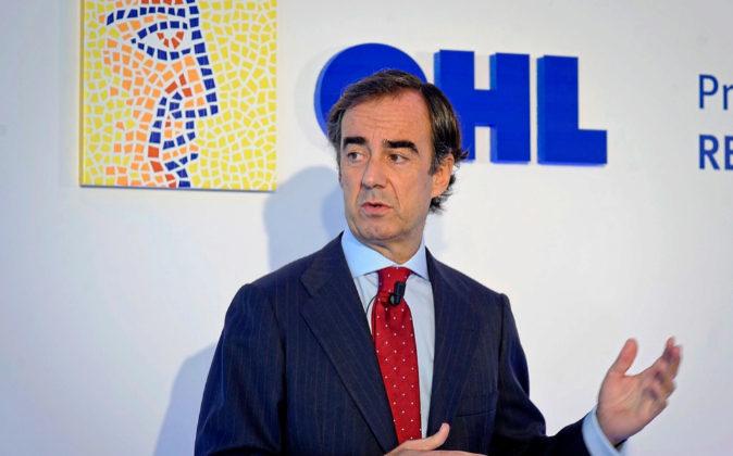Juan Villar-Mir es el presidente de OHL