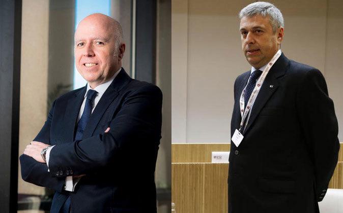 Hilario Albarracín, presidente de KPMG España, y José Luis Perelli,...