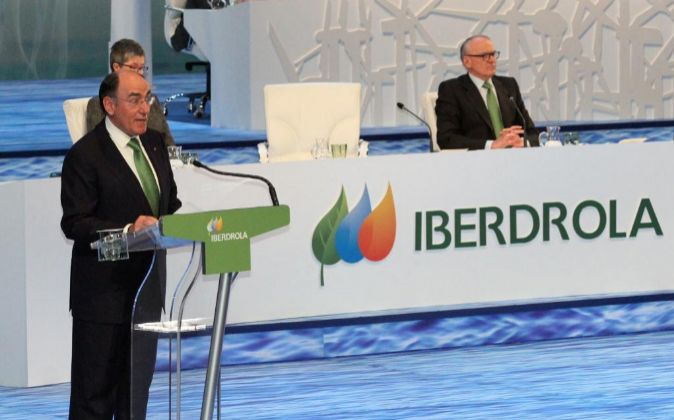 Ignacio Sánchez Galán, en la junta de accionistas de Iberdrola de...