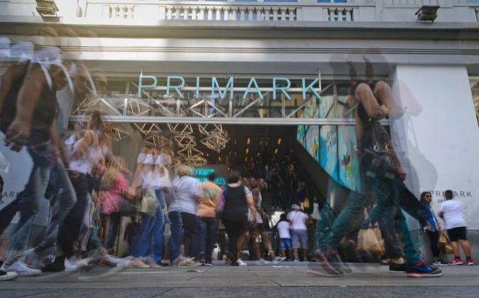 Tienda Primark en la Gran Vía de Madrid.