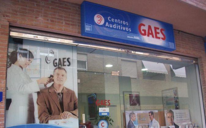 Centro auditivo de Gaes.