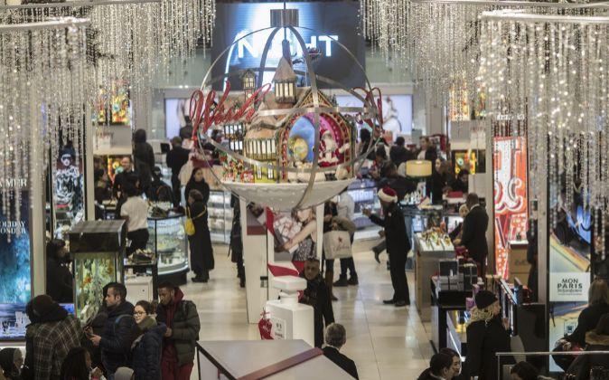 Interior de un establecimiento de Macy's