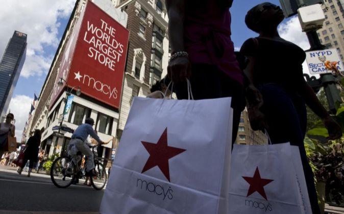 Imagen del exterior de una de las tiendas de la cadena Macy's en...