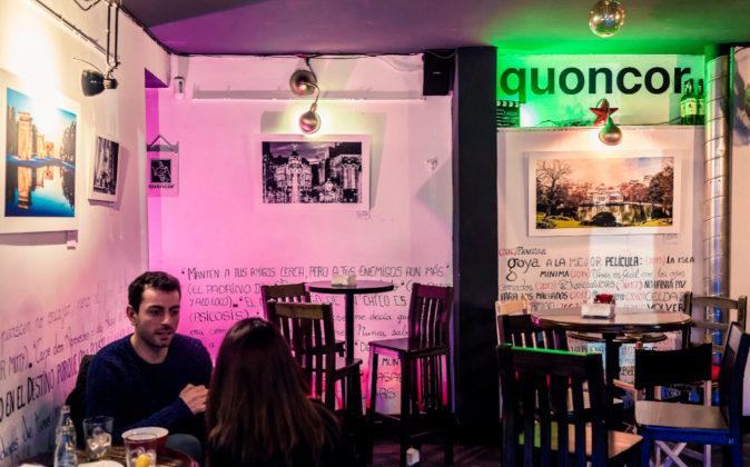Cafetería espacio Quoncor.