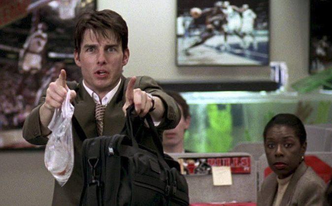 ESCENAS POCO RECOMENDABLES En 'Jerry Maguire', Tom Cruise...