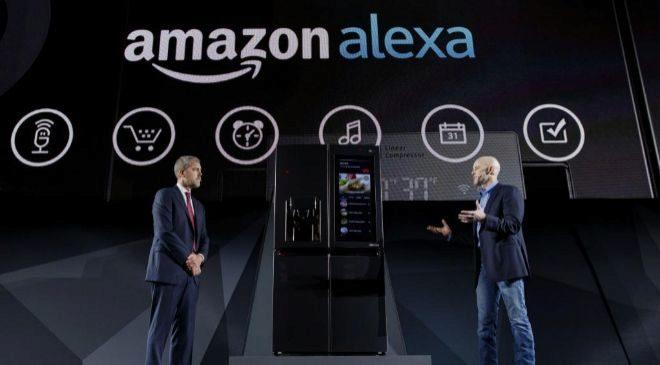 Imagen de la presentación de Alexa, el sistema de asistencia...