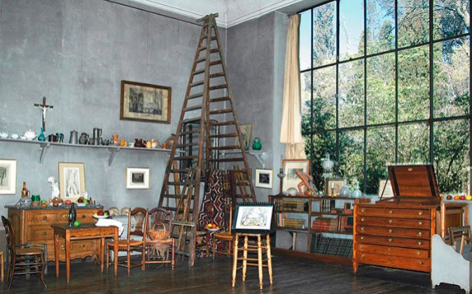 aix en provence hogar y taller de c zanne capilla de la modernidad. Black Bedroom Furniture Sets. Home Design Ideas