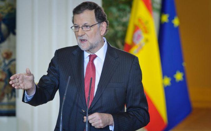 Marioano Rajoy, presidente del Gobierno.