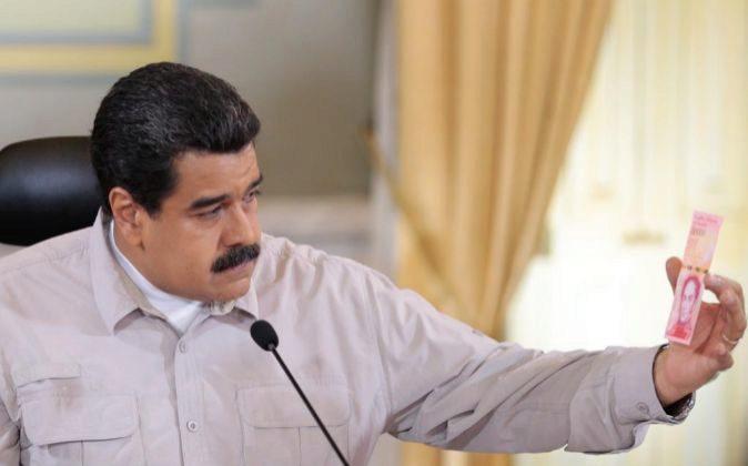 El presidente de Venezuela Nicolas Maduro.