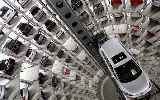 Fotografía de archivo de una fábrica de VW en Wolfsburg, Alemania,...