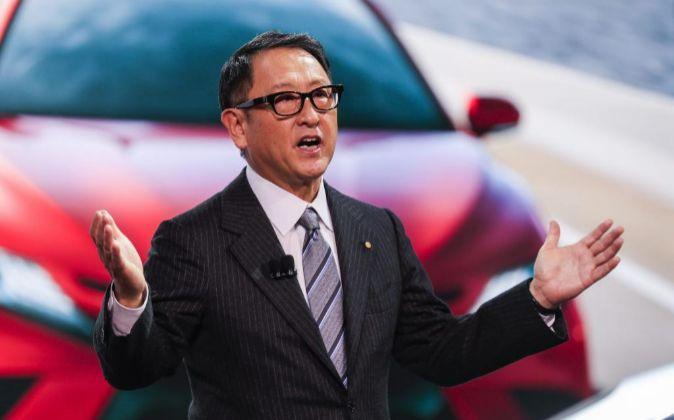 El presidente de Toyota, Akio Toyoda.