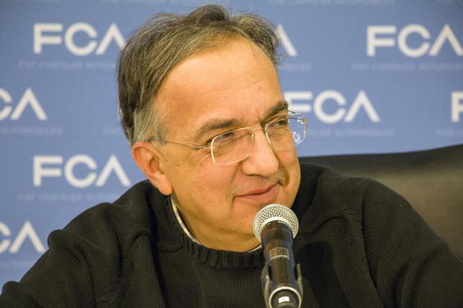 Sergio Marchionne, consejero delegado de FCA, ayer en Detroit.